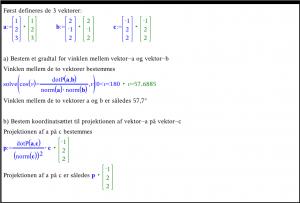 Sådan kan du løse vektor opgaven i et Noter værksted