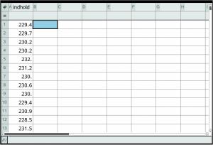 Konfidensinterval og hypotesetest eksempel i lister og regneark